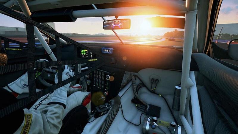 Assetto Corsa Competizione BMW M6 GT3 Cockpit