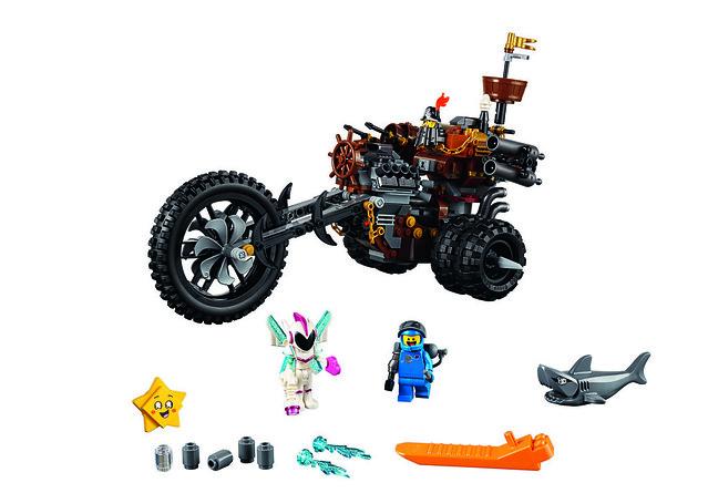70834 MetalBeard's Heavy Metal Motor Trike