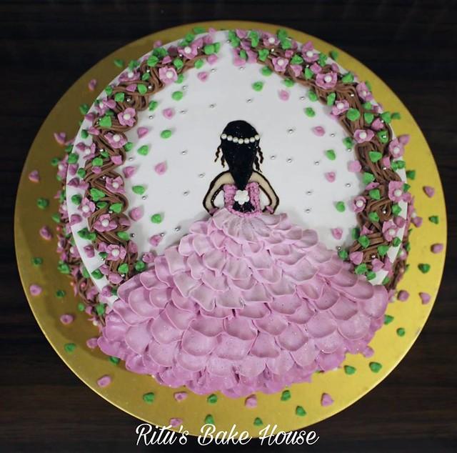 Celebrating the Freedom of Life by Ritu Kaur of Ritu's Bake House