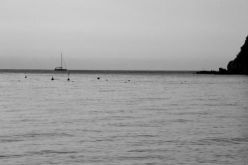Il mare in bianco e nero