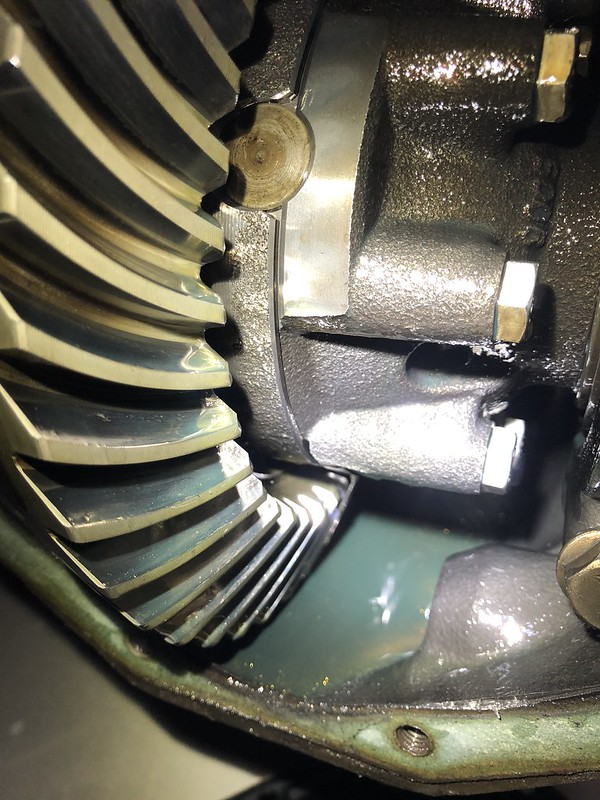 Replacing differential bearings - pinion and carrier - Sprinter