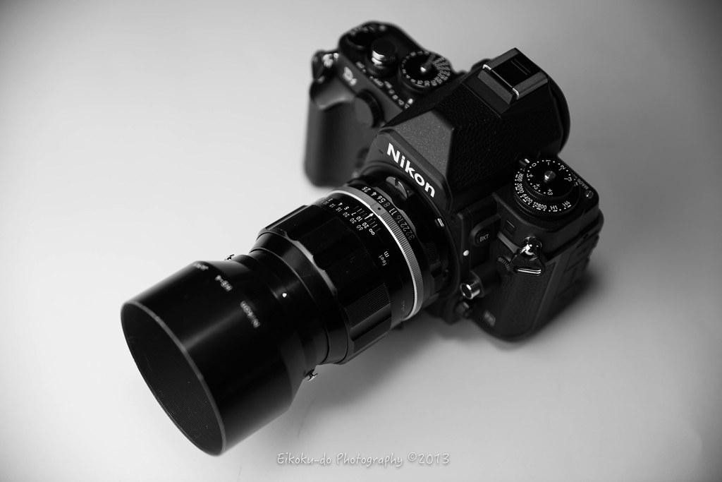 Nikon Df + NIKKOR-P Auto 105mm F2.5 非Ai