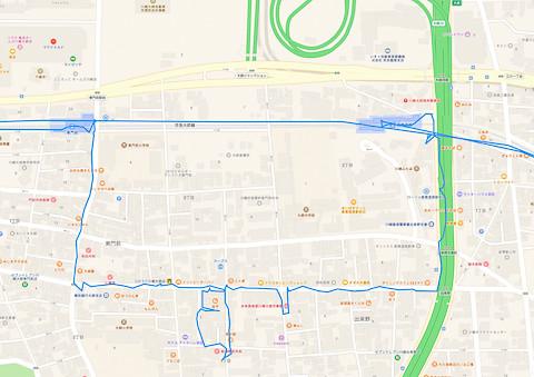 産業道路駅〜東門前駅