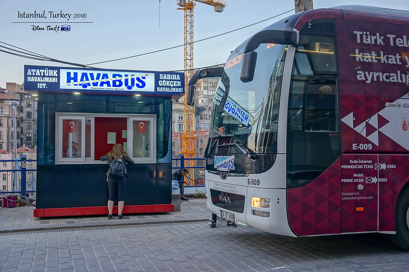 2018 Turkey Istanbul Havabus to Airport