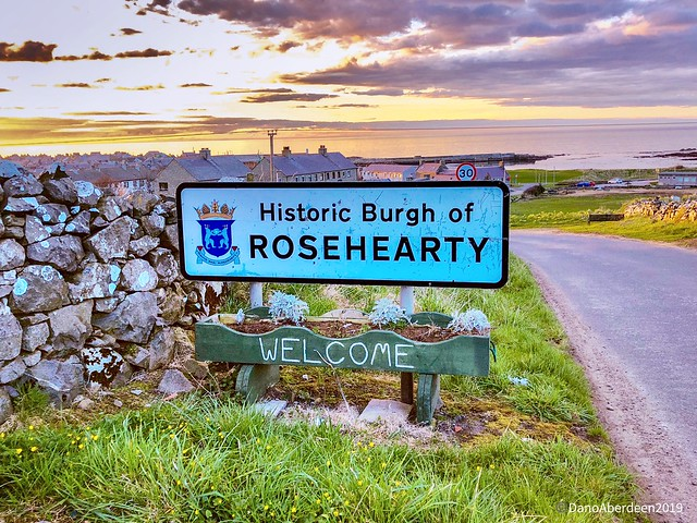 Rosehearty Harbour - Aberdeenshire Scotland - 19/04/2018