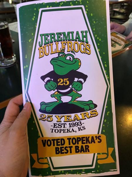 Jeremiah Bullfrogs
