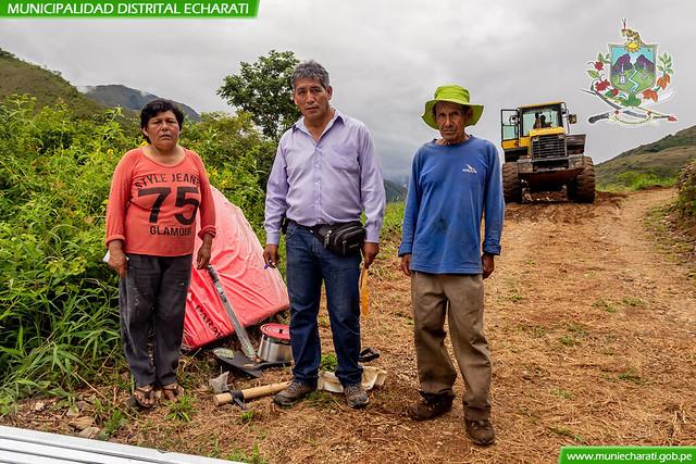 Defensa Civil se Hizo Presente con Materiales a Familias Afectadas