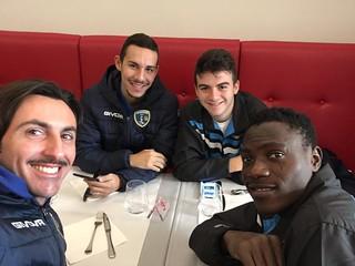 La squadra di Serie A2 con Minervini, Massarelli, Pellegrini e Hassan