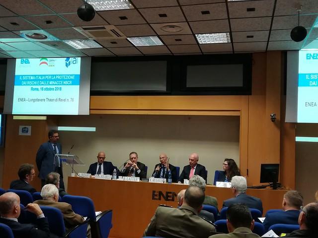 Il sistema-Italia per la protezione dai rischi e minacce NBCR