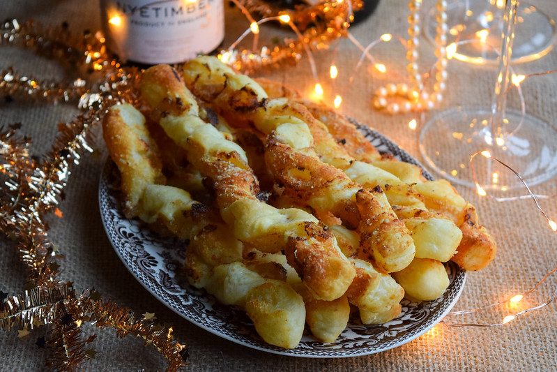 Ginger Cheese Straws