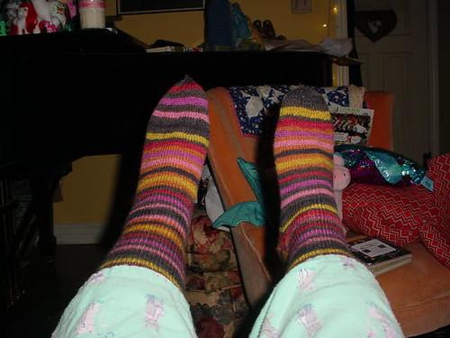 new striped socks