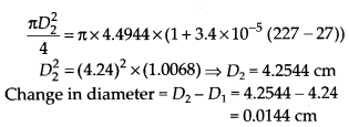 NCERT Solutions for Class 11 Physics Chapter 11Thermal Properties of matter 6
