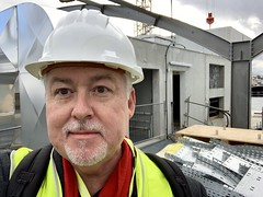 Getting a hard hat tour of a new data center in Marseille