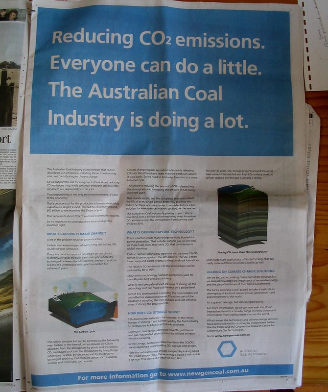 """New gen coal"" ad November 2008"