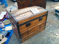 Old chest, Vide grenier (flea market), Esperaza - Photo of Rouvenac
