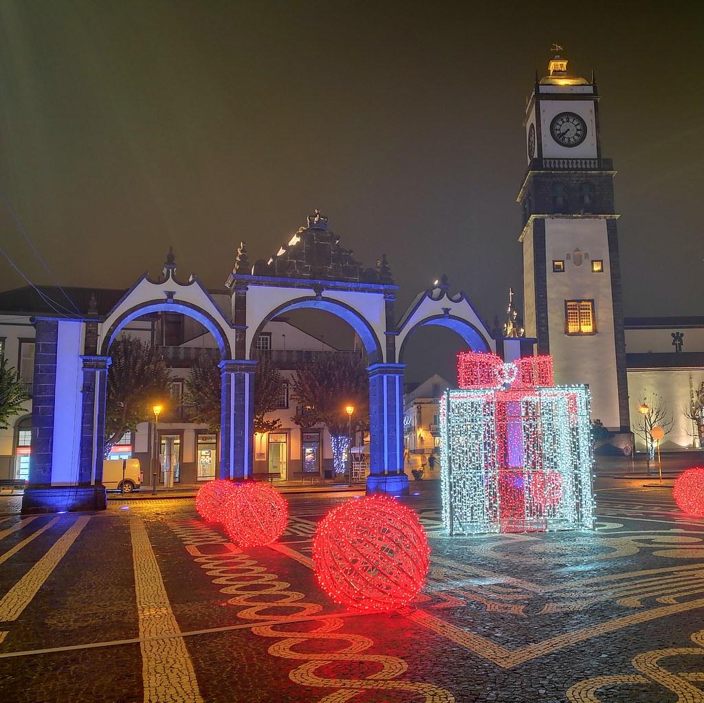 Xmas in Ponta Delgada 2018