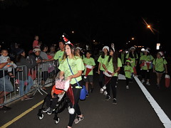 Hawaiian Electric at the West Oahu Electric Light Parade – Dec. 8, 2018 : Volunteers ready for the start of parade.