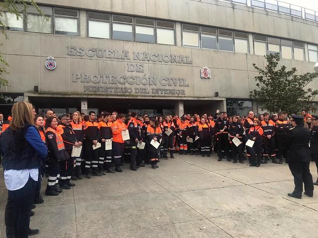 Entrega de Diplomas de Protección Civil