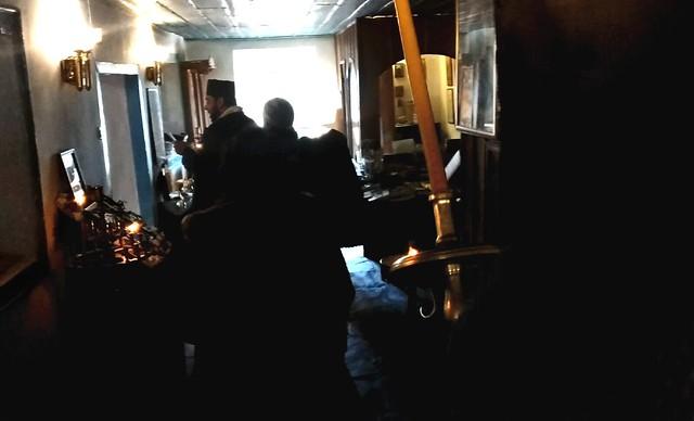 27 декември 2018 г. - Посрещане мощите на Св. Рафаил Митилински от иверската килия Св. Анна на Св. Гора