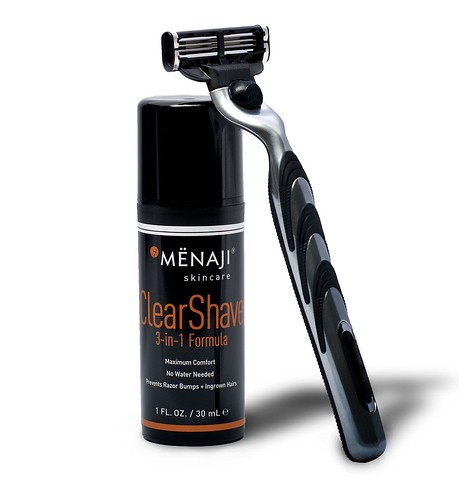 clear-shave-with-razor