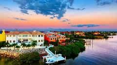 Yearning Dusk Goddess Awaits Being Taken As God's Magic Paints Western Sky Opposite Tampa Bay Sunset  - IMRAN™