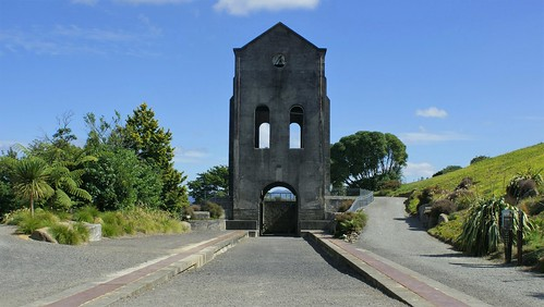 Waihi: Cornish pumphouse (c.1904) (2)