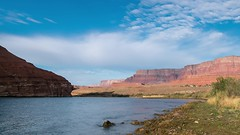 Video of Man fly fishing on Colorado river at Lees Ferry, Arizona