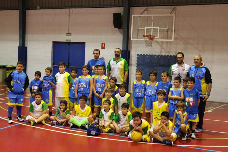 YATV nuevo patrocinador del equipo benjamín del CBC Algeciras
