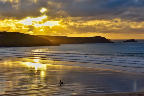 Cornish sunset