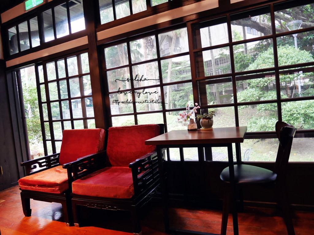 台北中正區南昌陸古亭站不限時咖啡館推薦陸軍聯誼廳雅鴿書院下午茶 (3)