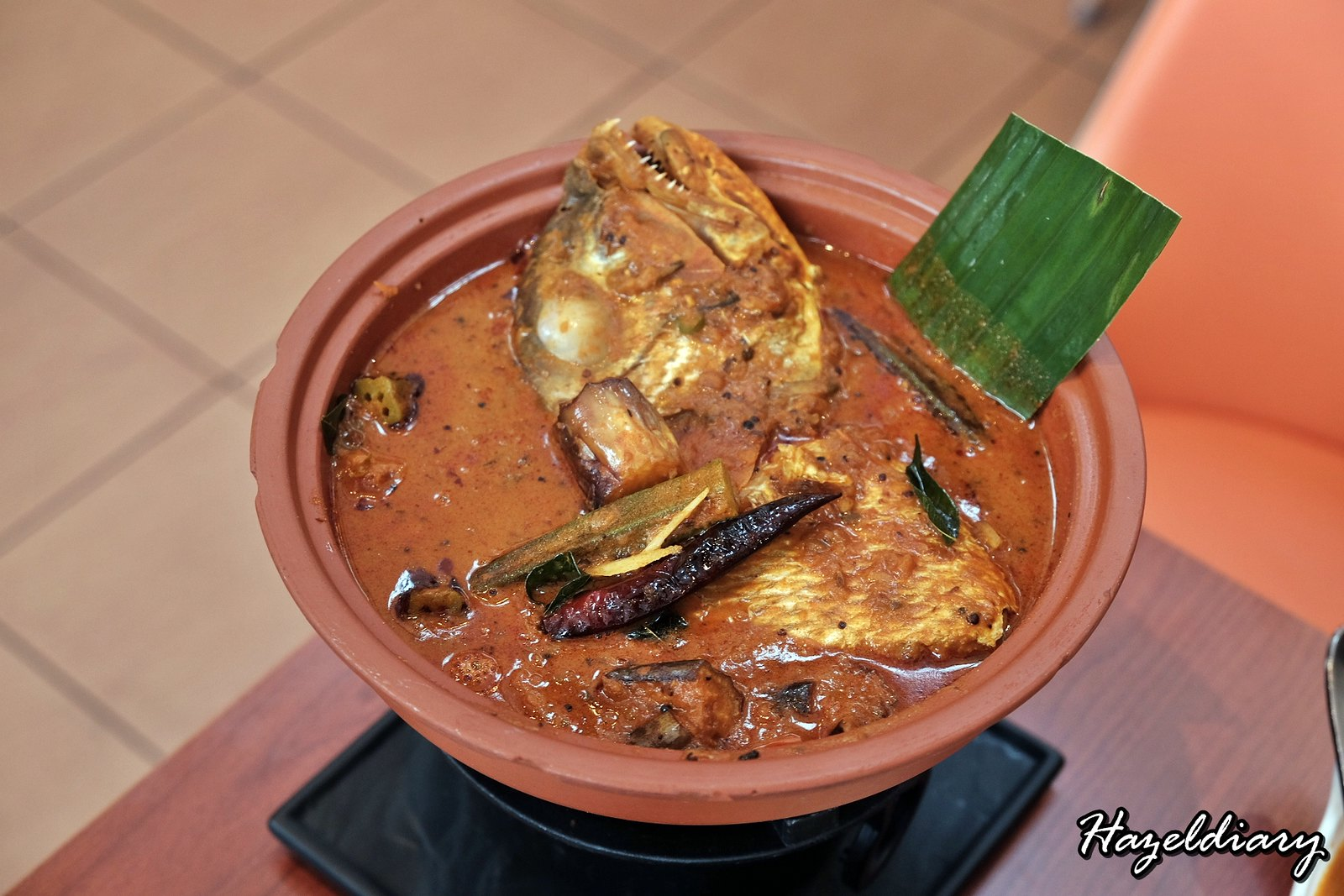 Pavilion Banana Leaf-Fish Head Curry