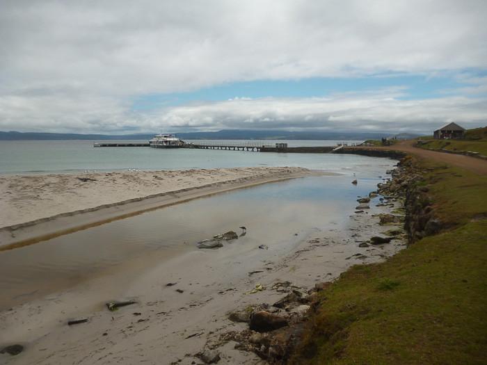 Maria Island creek and harbour