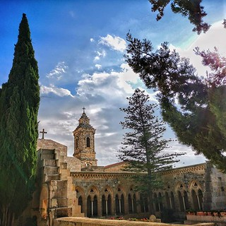 Eleona church built by St. Helen on the Mount of Olives | by johnrdorazio
