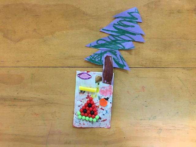麋鹿小姐特製聖誕卡片