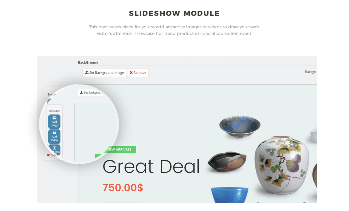 Slide show module - Leo Zurich - Gifts and Souvenirs shop