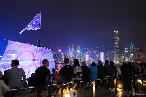 Tsim Sha Tsui Promenade at Night