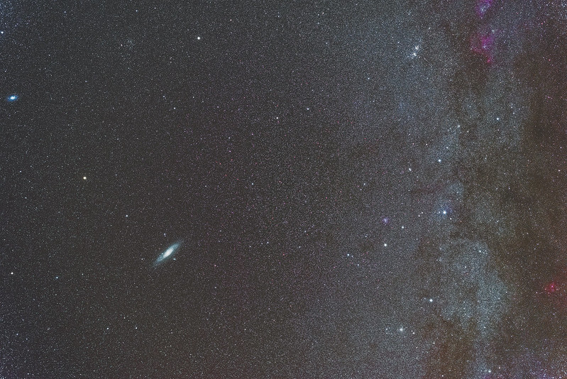 M31, h-χ