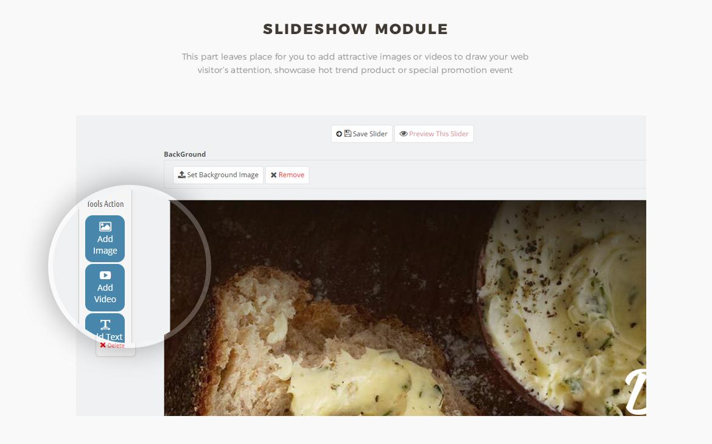 slide show module - Bos Highlands - Food and Drink Prestashop Theme