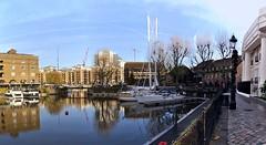 St Katharine Docks Panorama (1). Nikon D3100, DSC_0174-0183