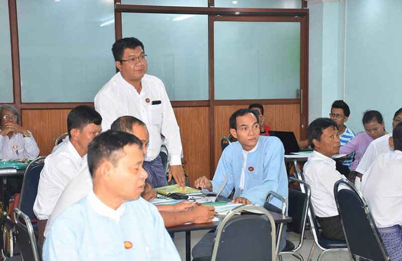 PPP workshop with Bago Municipal