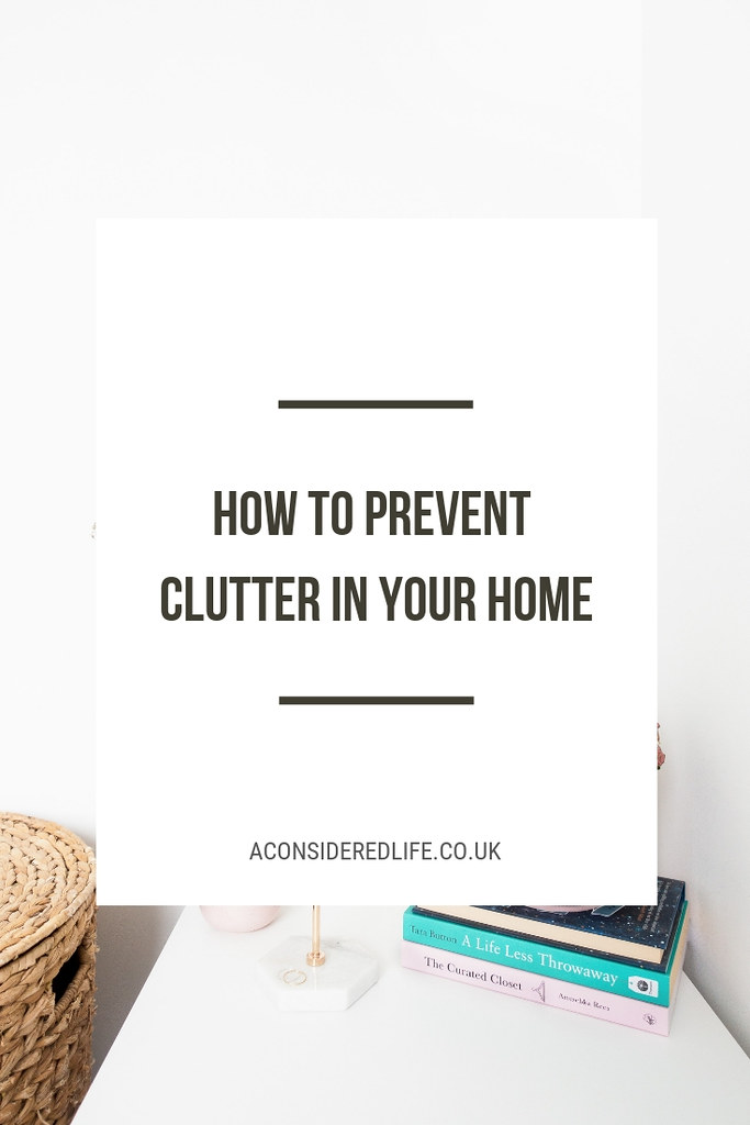 Preventing Clutter