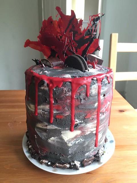 Cake by Wildflower Bakery