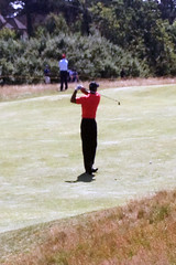 Tiger Woods Final Day At The British Open In England
