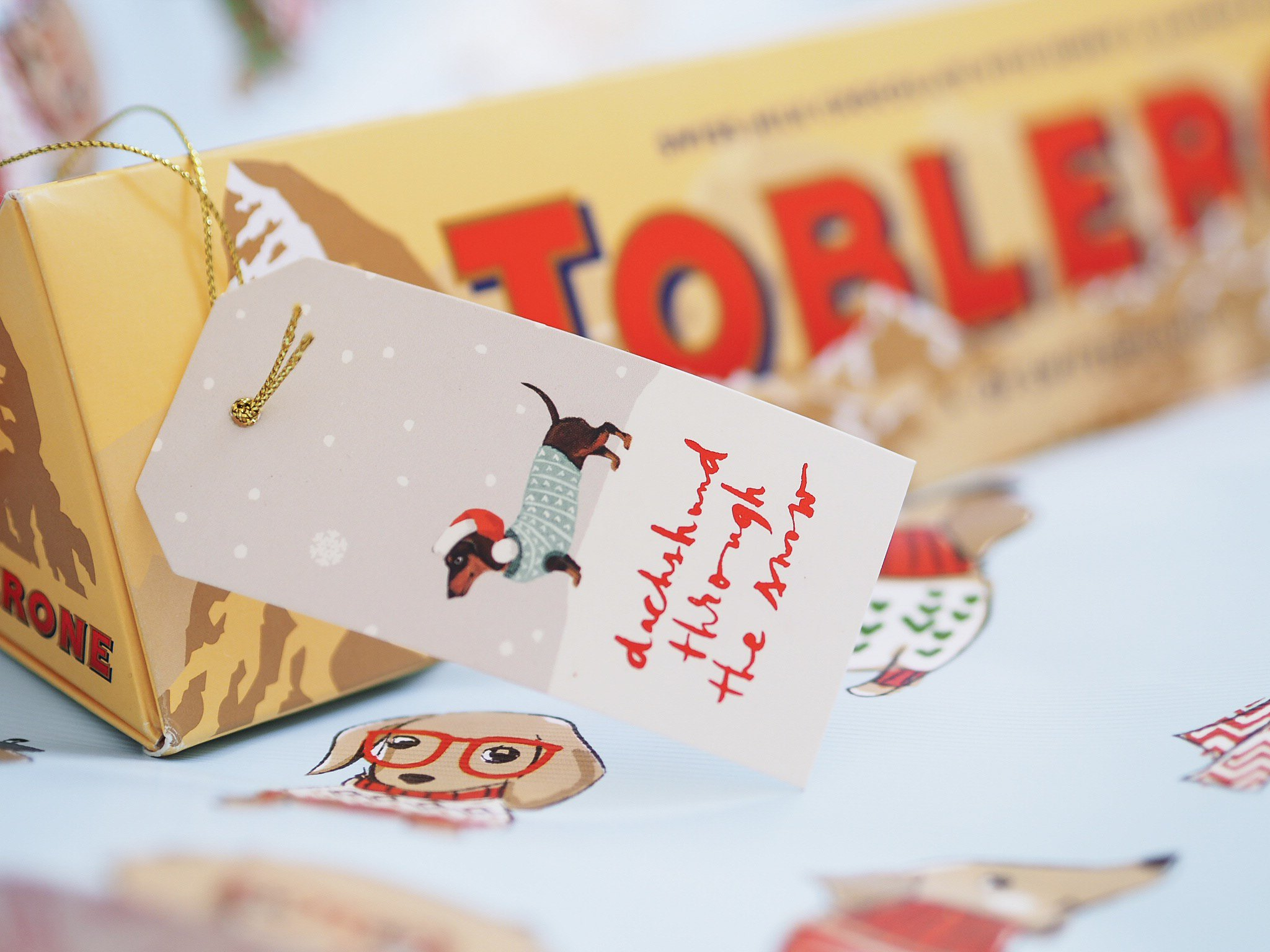 Toblerone Christmas