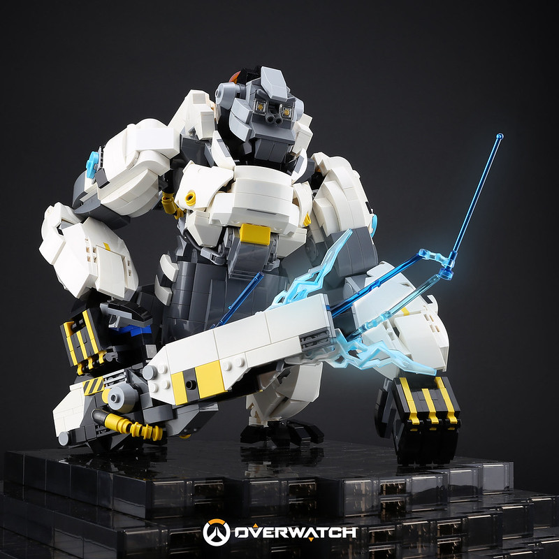 [MOC分享] Winston-Overwatch Hero