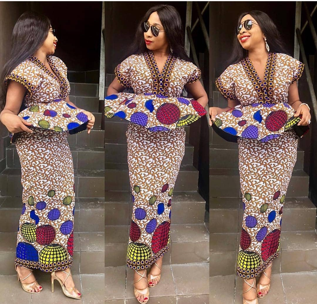 Ankara Styles 2020 SKIRTS AND BLOUSE,GOWNS,JUMPSUITS 5
