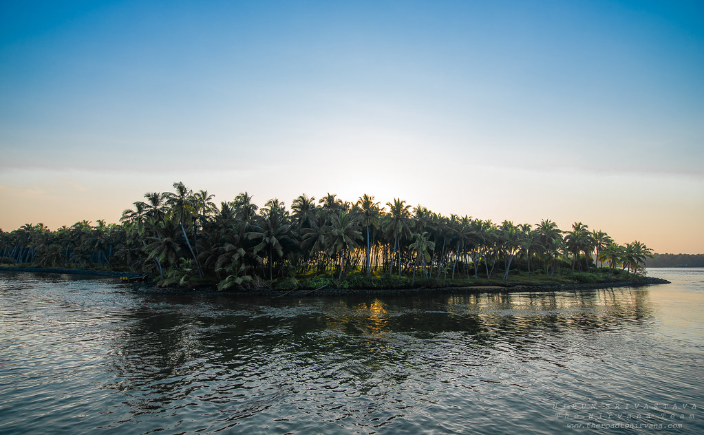 Sunset on the Backwaters