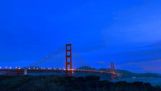 Golden Gate Bridge Predawn