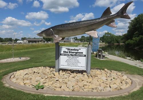Stanley the Sturgeon (Shiocton, Wisconsin)