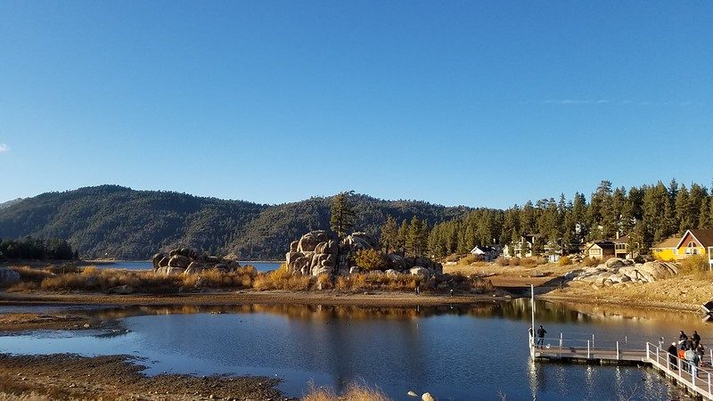 Boulder Bay Park at Big Bear Lake November 25, 2018